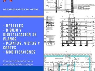 Documentacion de obra en BIM-CAD-Revit-Autocad-Renders-Computos